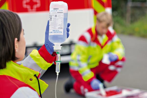 Mit glucose hodensackinfusion Anleitung Hodensack